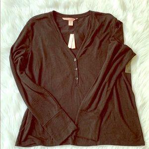 🔥🔥🆕Victoria's Secret Long Sleeve Sleep Top